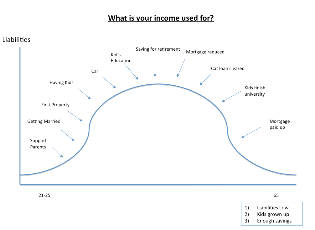 what is your income used for