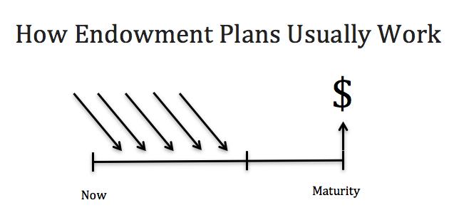 how endowment plans work
