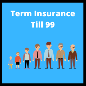 term insurance till 99 years old