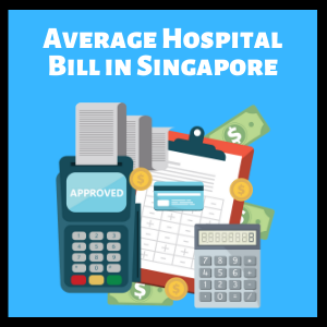average hospital bill size singapore