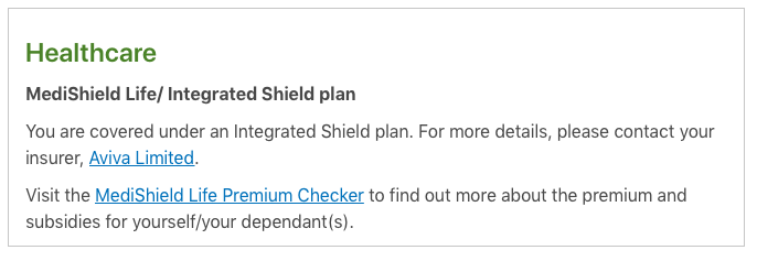 how to check for integrated shield plan