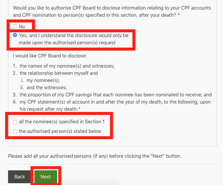 how to make cpf nomination 7