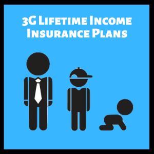 3g lifetime income insurance plans singapore