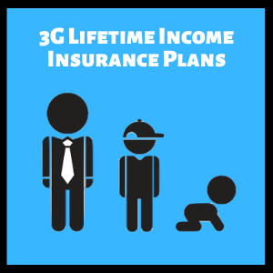 3g lifetime income insurance plans singapore