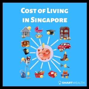 average monthly cost of living in singapore