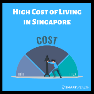 why is the cost of living so high in singapore