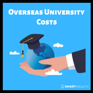 overseas university costs for singaporeans