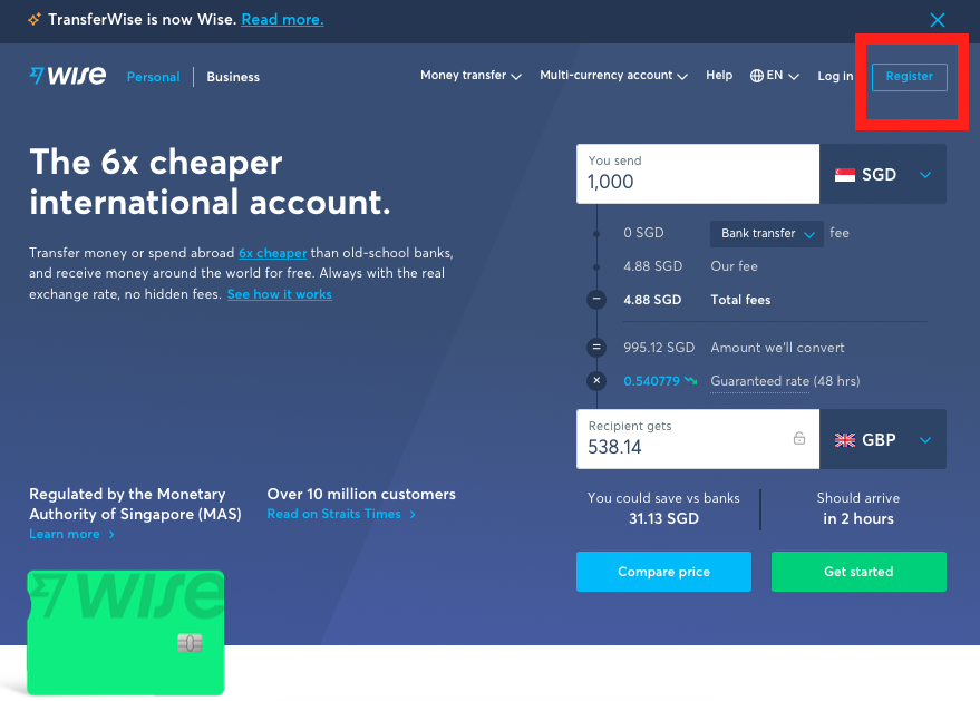 How to Send Money Using TransferWise 0