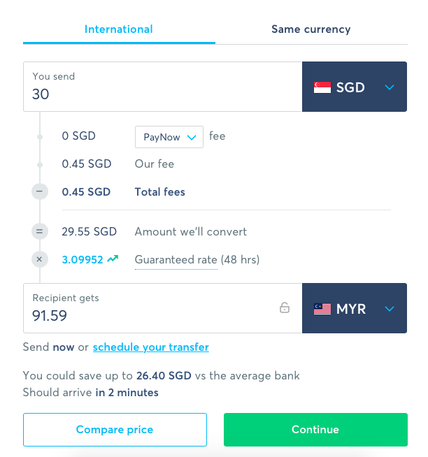 How to Send Money Using TransferWise 1