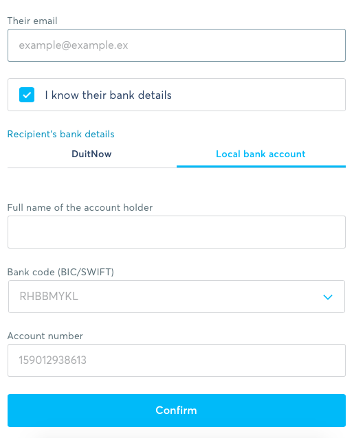 How to Send Money Using TransferWise 3