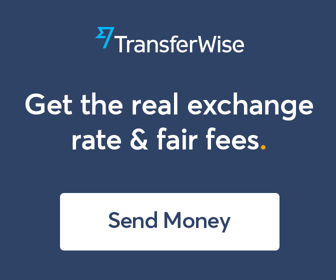 TransferWise (Wise) Real Exchange Rates