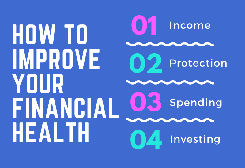 how to improve your financial health